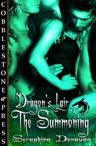 Cover- The Summoning (Dragon's Lair #2) - click to see on Goodreads