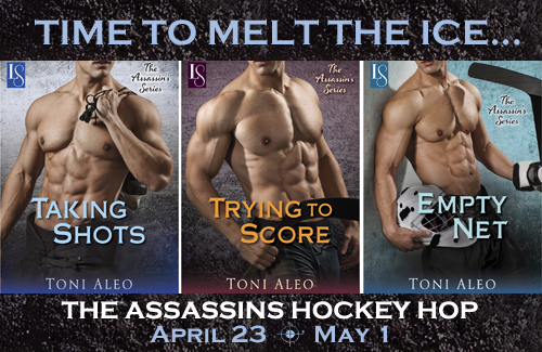 The Assassins Series covers- click to see post at Romance at Random