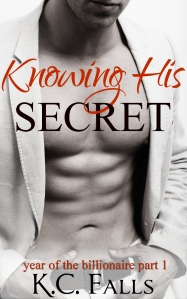 Knowing His Secret cover - click to see on Goodreads