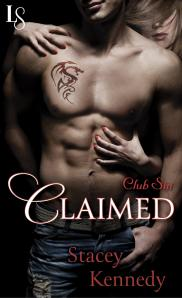 CLAIMED cover - click to see my review on Goodreads
