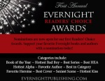 Join us for the First Annual EVERNIGHT READERS' CHOICE AWARDS!