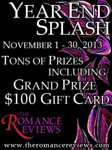 click to see the Year End Splash at The Romance Reviews
