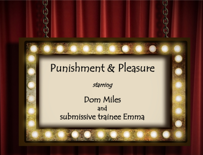 Punishment and Pleasure starring